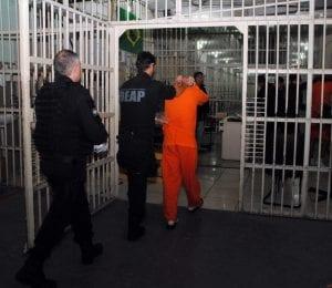 Transferência de presos (Jaqueline Noceti/Secom)