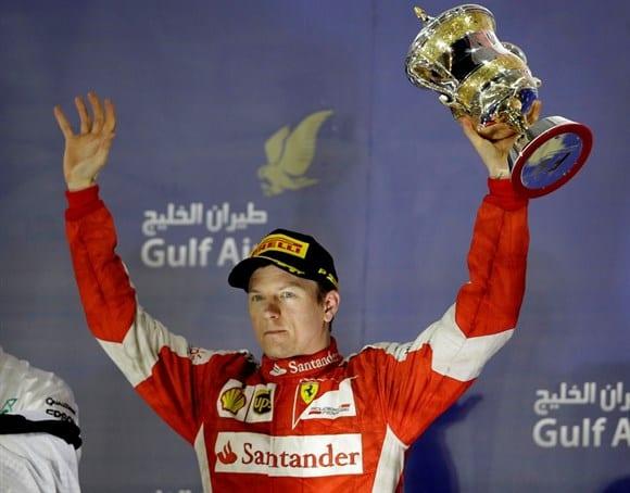 """Mesmo com Hamilton vencendo (mais uma), Raikkonen foi """"o cara"""" da corrida (AP)"""