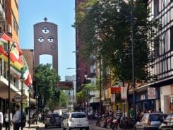 Rua 15 de Novembro, tradicional para o comércio