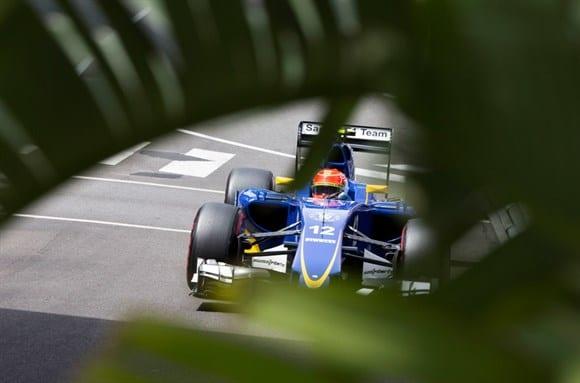 Estratégia e constância do carro ajudaram a Sauber de Nasr a conquistar pontos em Monte Carlo (AP)