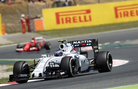Bottas anda forte e coloca a Williams em quarto, a frente do compatriota Raikkonen (Beto Issa)