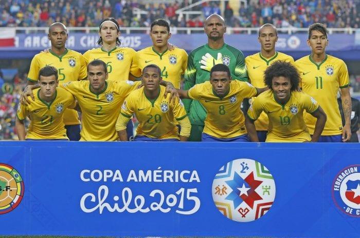 Brasil enfrentou o Paraguai em Concepción, Chile (Rafael Ribeiro / CBF)