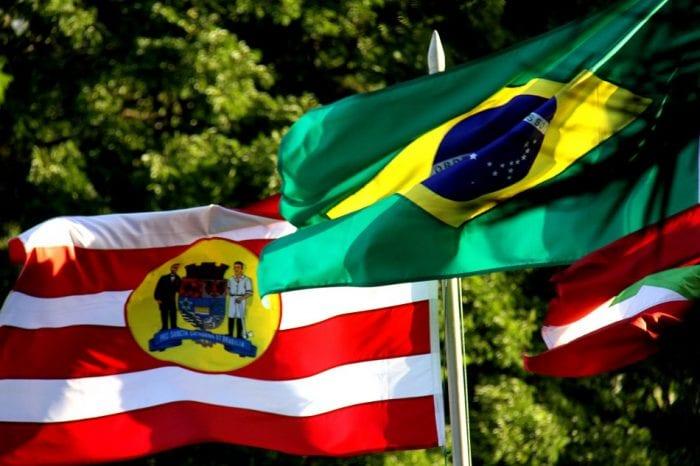 Bandeira Blumenau Brasil (Marcelo Martins)