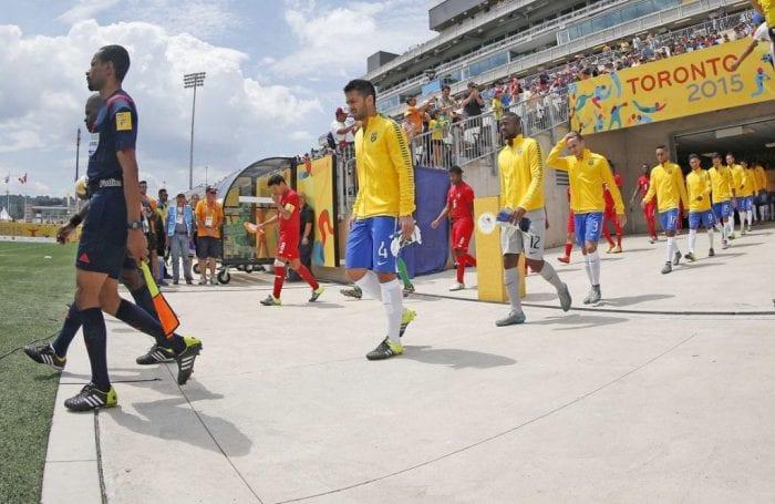Seleção masculina de futebol conquista o bronze no Pan de Toronto ao derrotar o Panamá por 3 a 1 (Rafael Ribeiro / CBF)