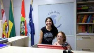 Tânia Elani Wuaden e Paula Boaretto