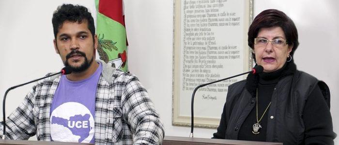 João Santos de Borba Filho e Alcione Kleine (Vivian Persuhn CMB)