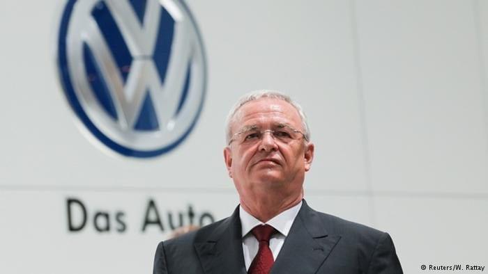 Martin Winterkorn, presidente-executivo da VW americana. Apesar das desculpas, pediu renuncia (Reuters)