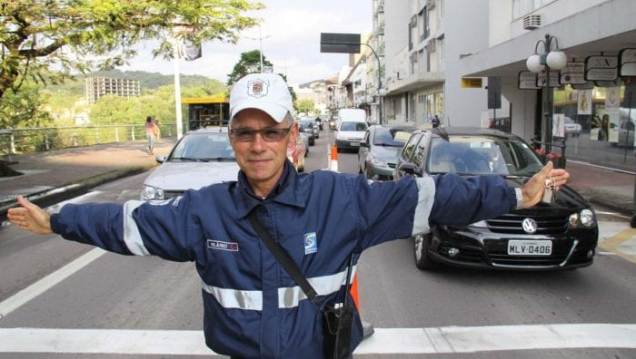Hilário Teixeira, 52 anos, é o agente mais conhecido (Marcelo Martins)