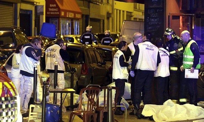 PARIS SOB ATAQUE: 129 vítimas (Reprodução\BBC)