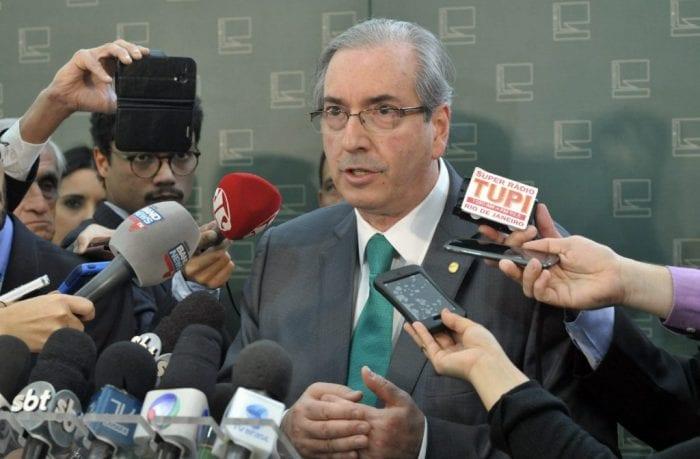 Presidente da Câmara, dep. Eduardo Cunha (PMDB-RJ) concede entrevista Data: 20/08/2015 - Foto:Alex Ferreira / Câmara dos Deputados