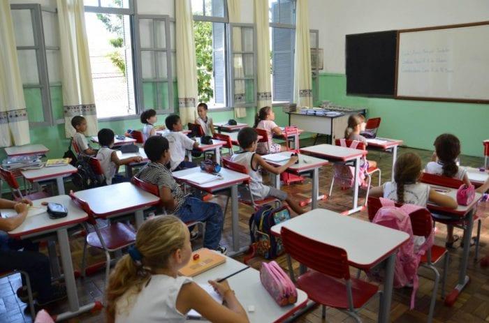 escola sala de aula