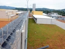 Penitenciária industrial de Blumenau - foto da Secom