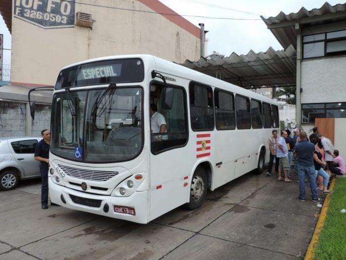 Início dos ônibus Blumenau (146)