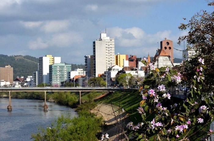 Blumenau Rio Itajaí-Açu