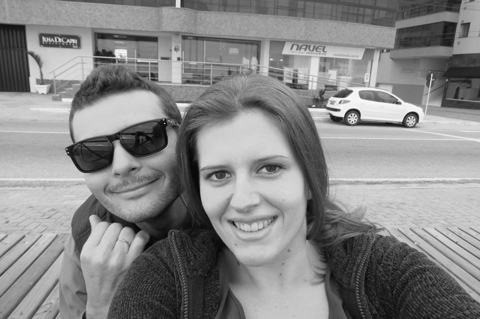 Everton e Adriana faleceram na terça-feira após acidente no Km 70 da BR-470 (Facebook)
