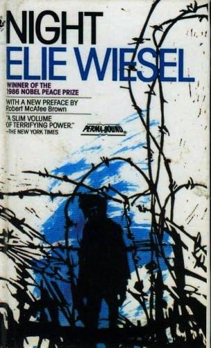 """Wiesel publicou o best seller """"Noite""""em 1958."""