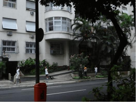 Rua Tonelero, 180 Copacabana, Rio de Janeiro, hoje.
