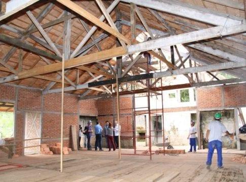 Frohsinn foi reconstruído após incêndio (Marcelo Martins - PMB)