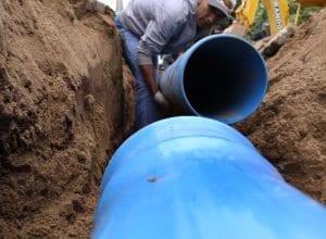 Expansão de rede de água (Marcelo Martins - PMB)