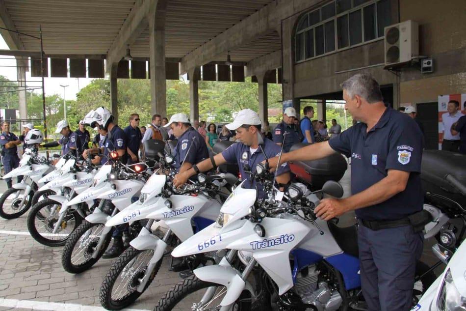 seterb-amplia-frota-de-motocicletas-da-guarda-de-transito