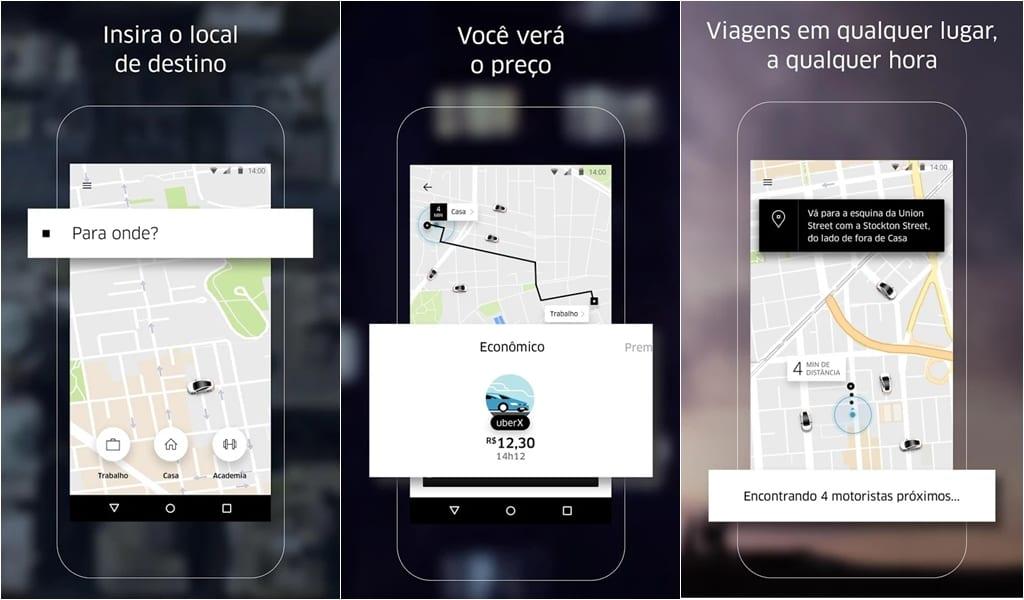 Uber é um dos aplicativos que podem ser regulamentados