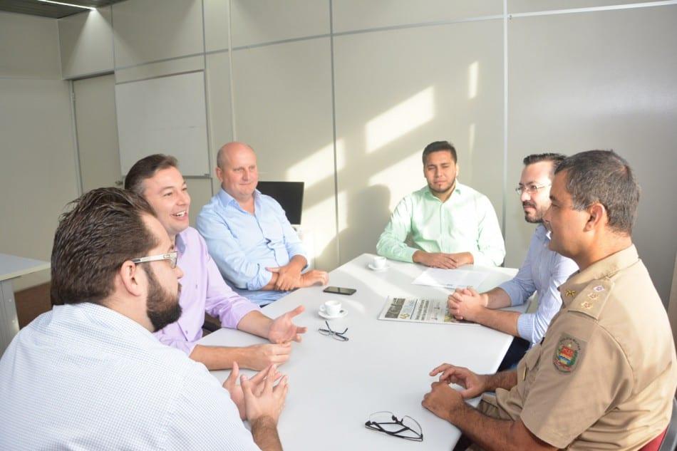 Reunião entre Prefeitura e a Polícia Militar (Michele Lamin)