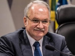 Ministro Edson Fachin, relator da Lava Jato no Supremo Tribunal Federal (Marcelo Camargo)