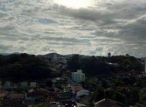 Sol entre nuvens devem predominar - foto de Jaime Batista