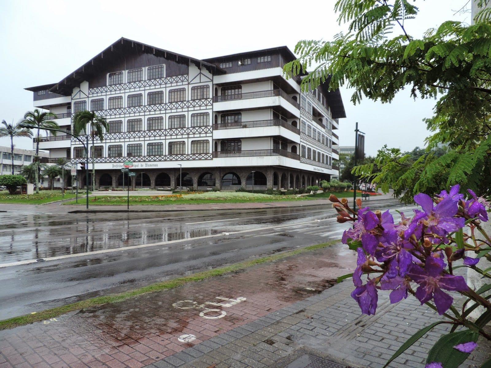 Previsão de chuva forte em Bluemenau amanhã - foto de Jaime Batista