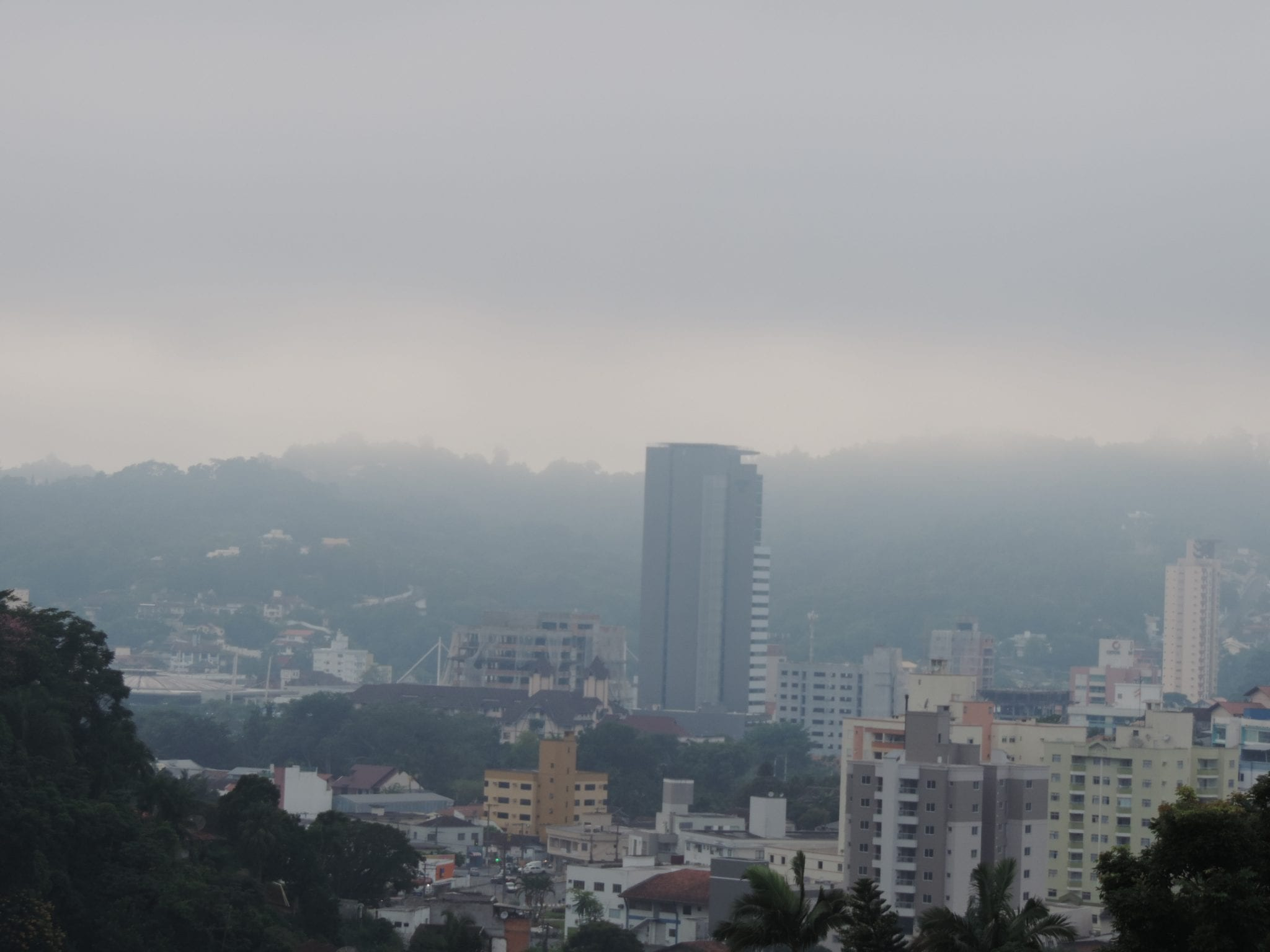 Previsão de chuva - foto de Jaime Batista