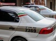 Viatura da Polícia Militar - foto de Giovanni Silva