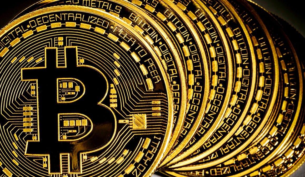Ilustração do Bitcoin