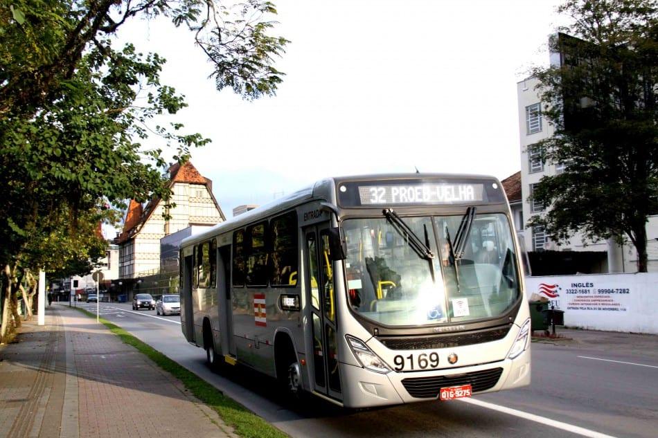 Ônibus da Blumob (Marcelo Martins/PMB)