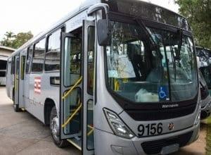 Ônibus da BluMob - foto de Michele Lamin