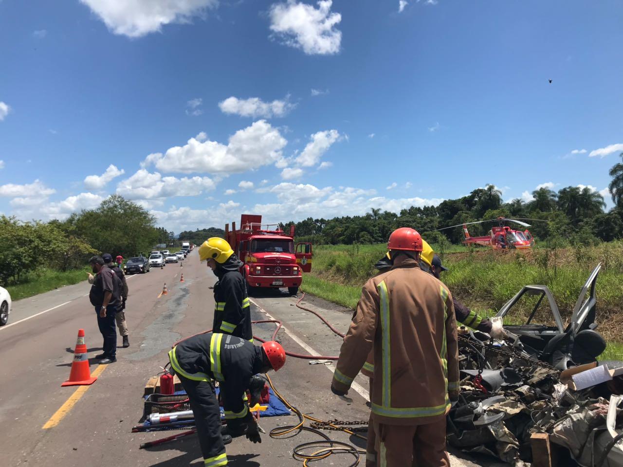 Homem de 37 anos morreu no momento da colisão (CMB)