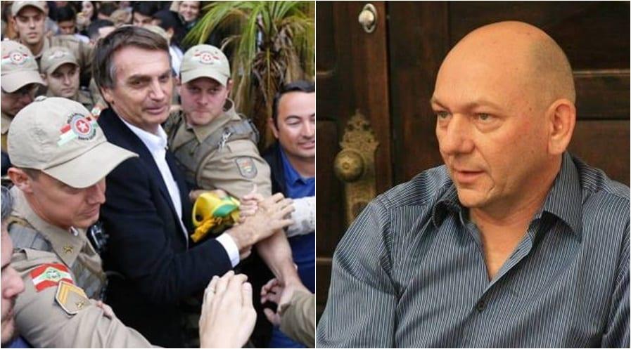 Jair Bolsonaro (Giovanni Silva) e Luciano Hang (página oficial)