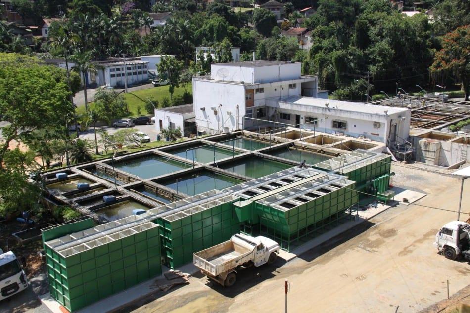Estação de tratamento de água do Samae (Marcelo Martins)