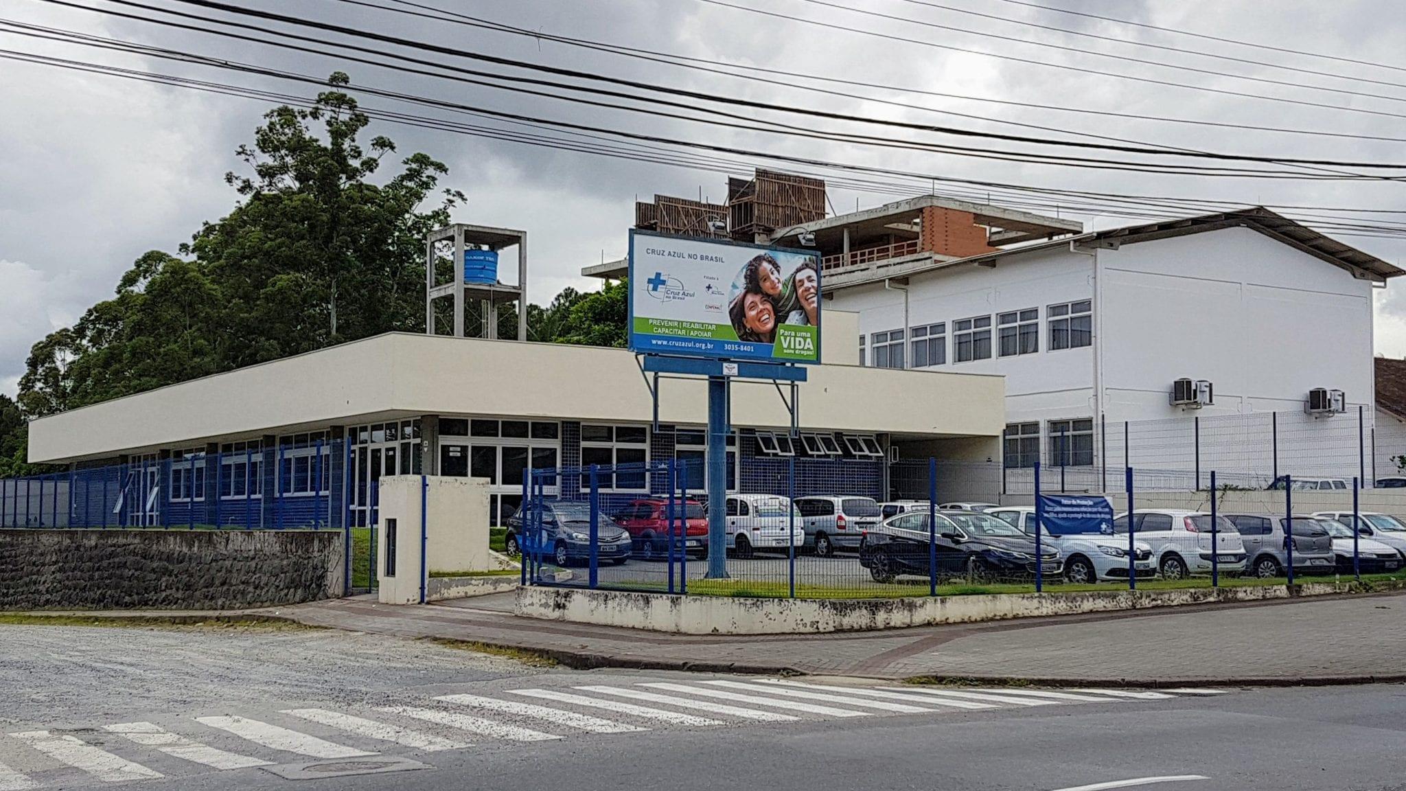 Cruz Azul no Brasil (Farol Blumenau)