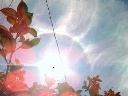 Halo solar em Blumenau (Zeli/Farol Blumenau)