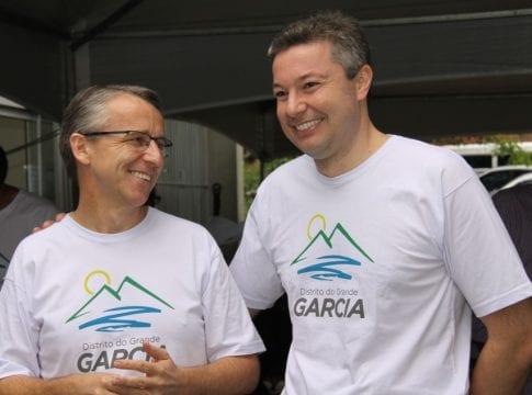 Mário Hildebrandt e Napoleão Bernardes (Marcelo Martins/PMB)