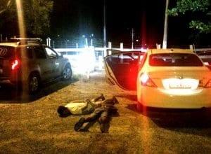 Dois criminosos presos em flagrante (Polícia Militar)