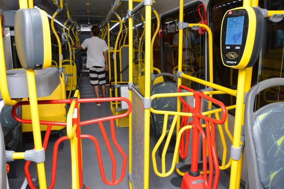 Ônibus da BluMob