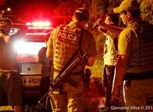 Operação do 10º Batalhão de Polícia Militar - foto de Giovanni Silva