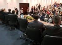 Sescon Blumenau empossa nova diretoria