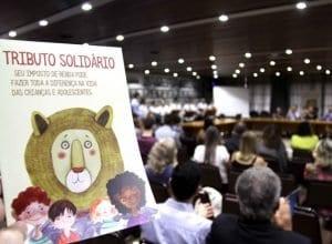 É possível doar parte do imposto de renda para serviços para crianças e adolescentes (Marcelo Martins/PMB)