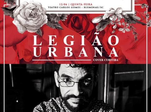 Legião Urbana Cover se apresenta no Teatro Carlos Gomes