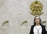 Ministra Cármen Lúcia presidindo a sessão plenária do STF (Fellipe Sampaio/SCO/STF)