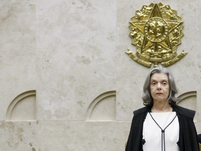 Ministra Cármen Lúcia, presidente da segunda turma do STF - foto de Fellipe Sampaio/SCO/STF