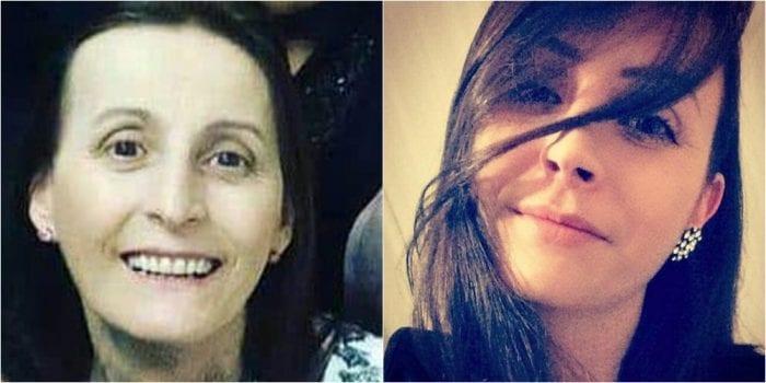 Inês do Amaral e a filha Franciele Will