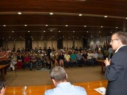 Prefeito Mário Hildebrandt dá posse a novos secretários (Michele Lamin/PMB)